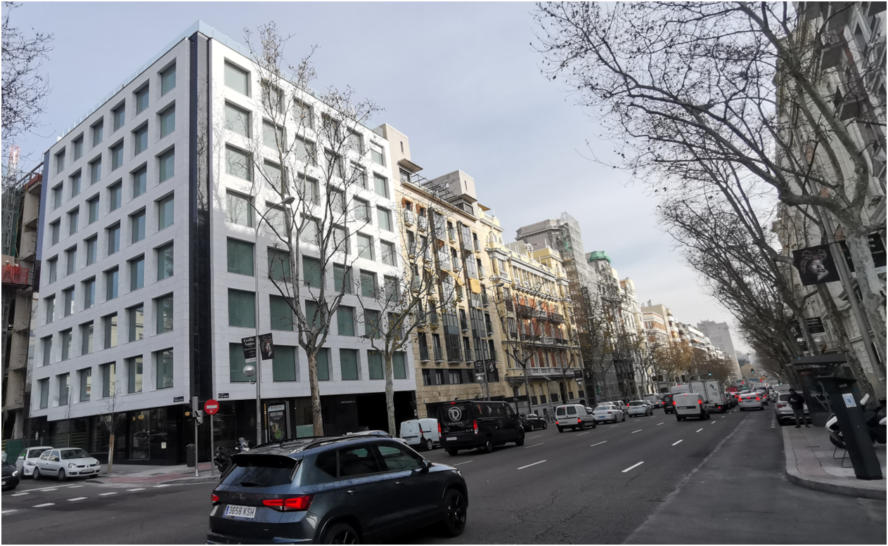 Nuevo edificio para Spaces/Regus en Madrid. Operación asesorada por Bello & Gambarte Real Estate